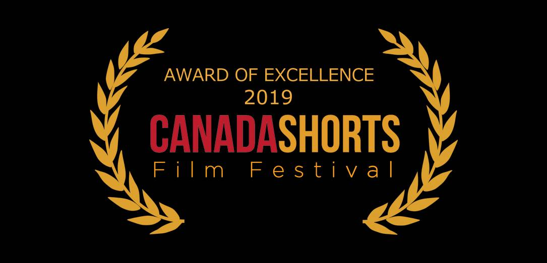 TWO MUMS AND A GIRAFFE wins AWARD of Excellence at Canada Short Film Festival